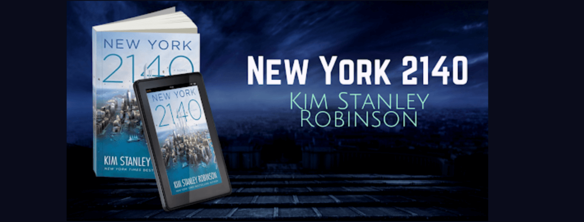 Book cover - NEW YORK 2140