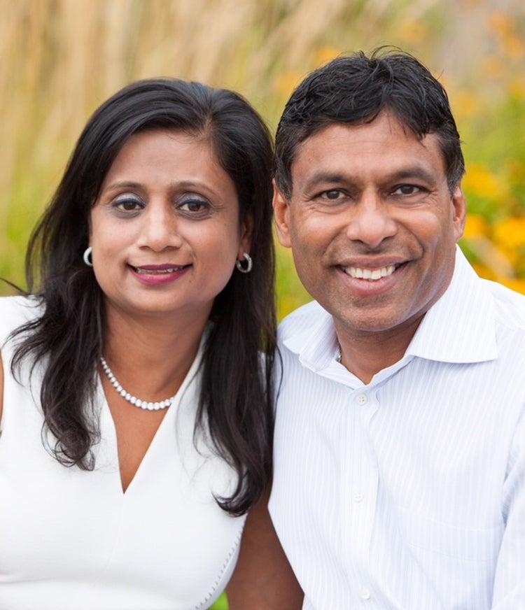 Naveen and Anu Jain