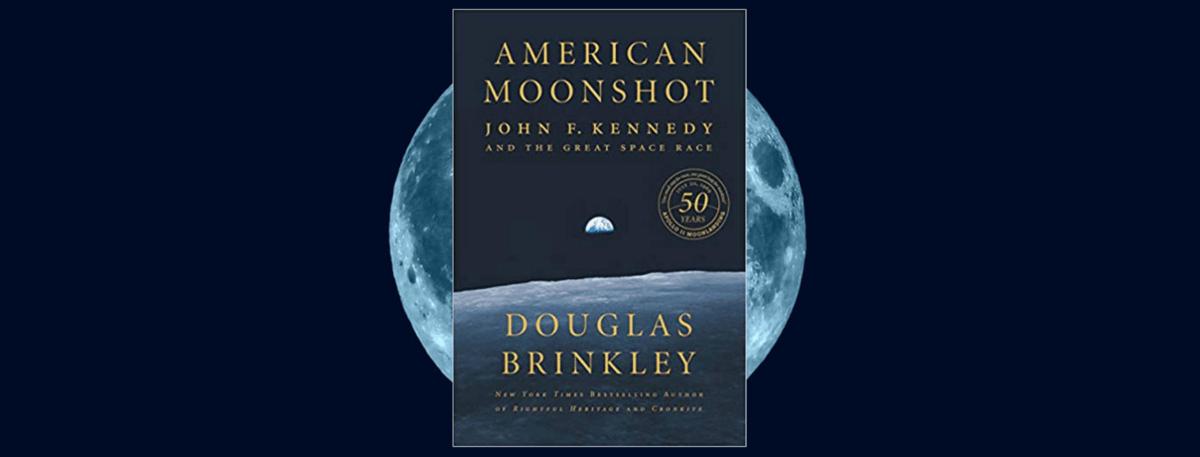 Book cover - AMERICAN MOONSHOT