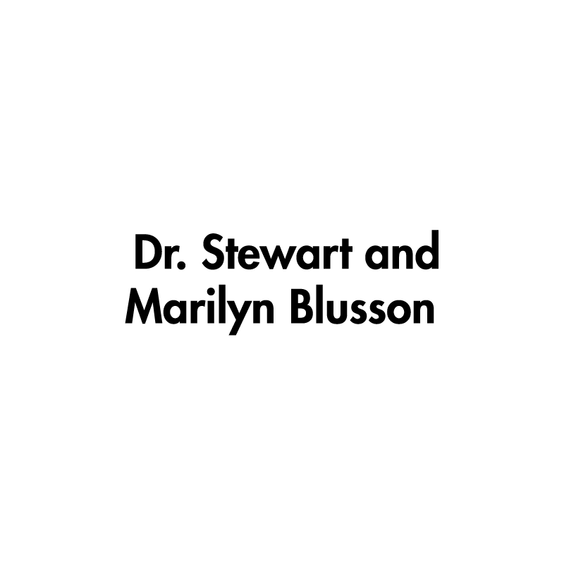 Dr. Stewart and Marilyn Blusson