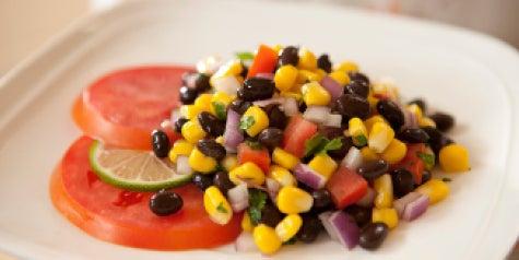 Bean salad - black beans, corn and more