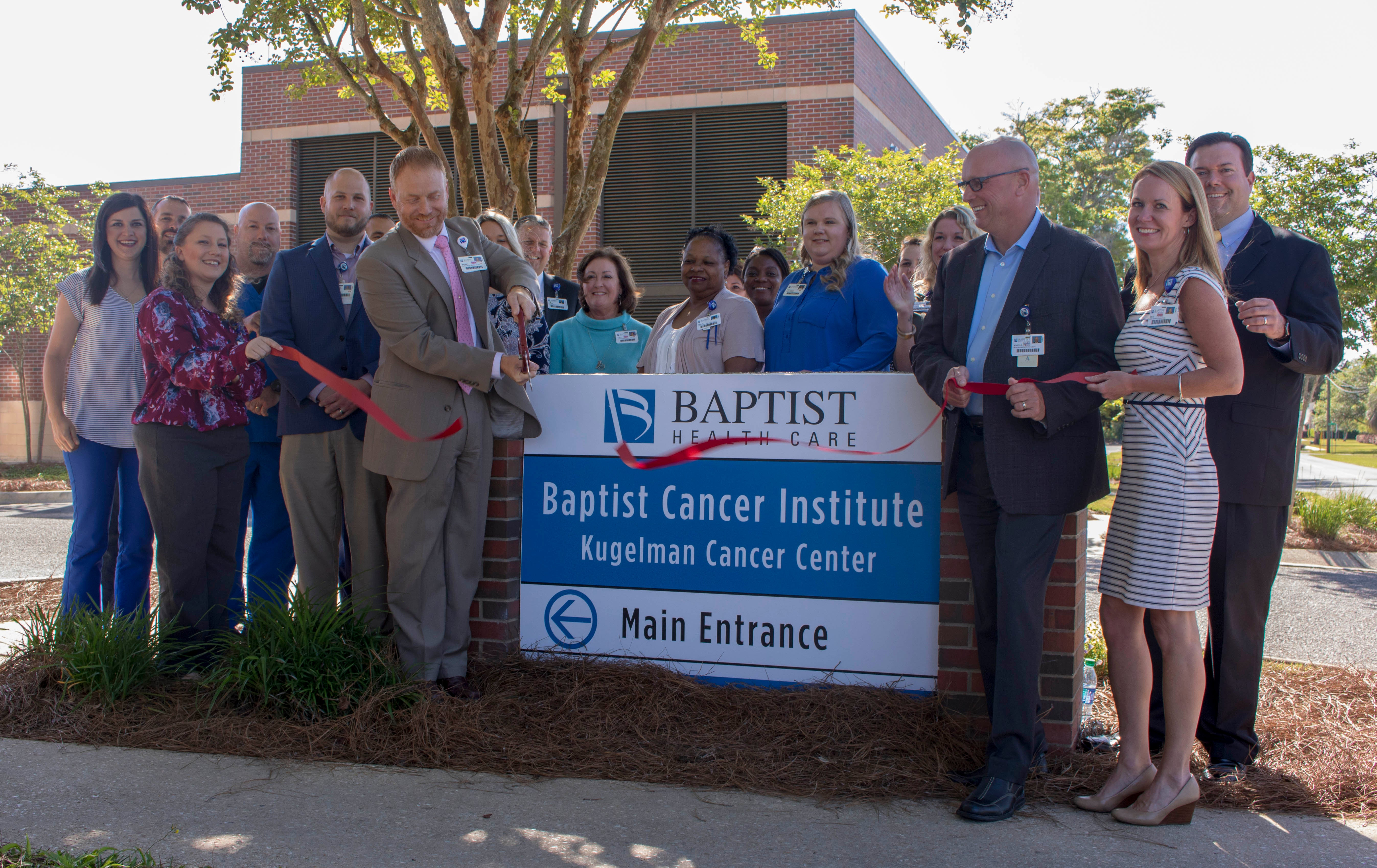 Infusion center grand opening