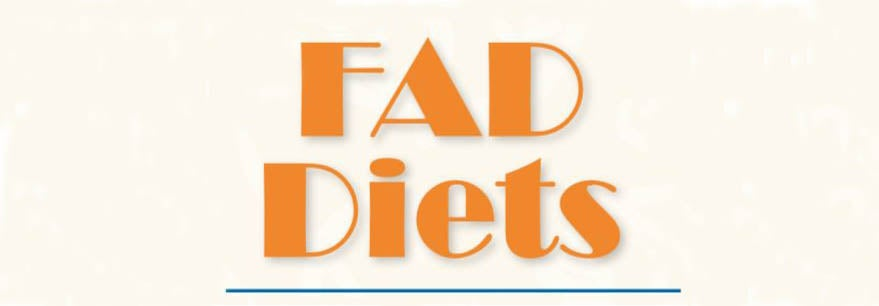 "Image of text - ""Fad Diets"""
