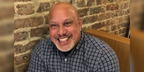 P.J. Germain  Baptist Health Care team member smiling picture.