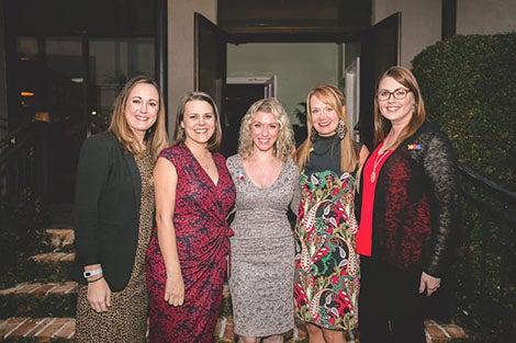 Foundation team at fashion show