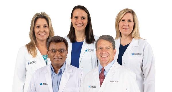 Baptist Urgent Care team