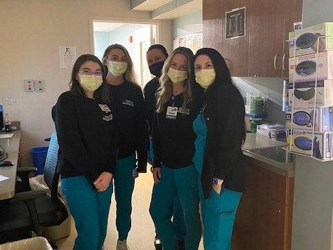 ER registration team members