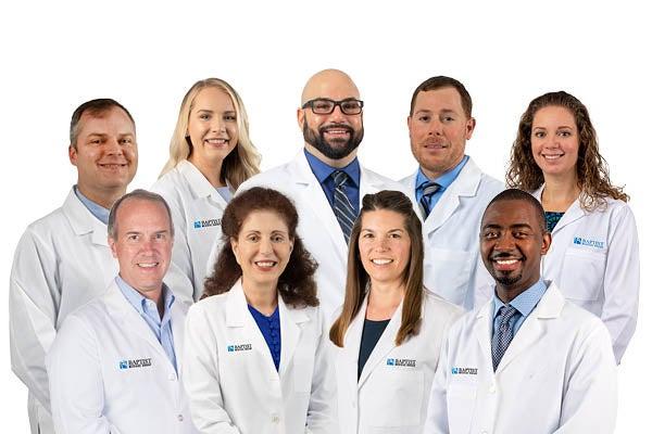 Baptist Medical Group Gastroenterology team