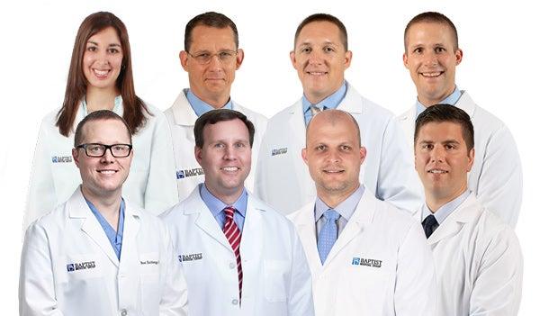 Baptist Medical Group Neurosurgery Team