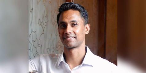 Smiling male Baptist Health Care team member Rahul Dasari