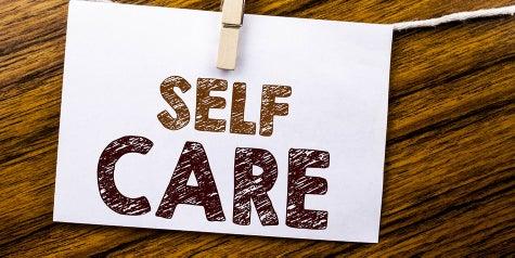 Self care words