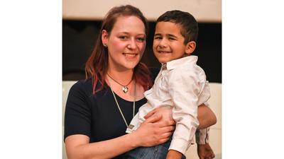 Encuentro paciente y donante Tatjana y Juanpi