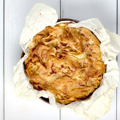 Chicken, Mushroom and Leek pie