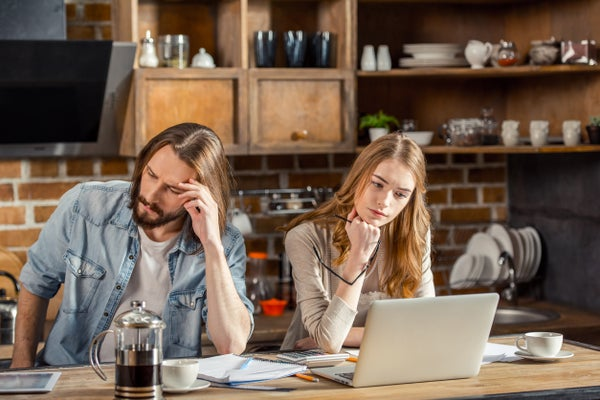 Separating from your partner when you work together