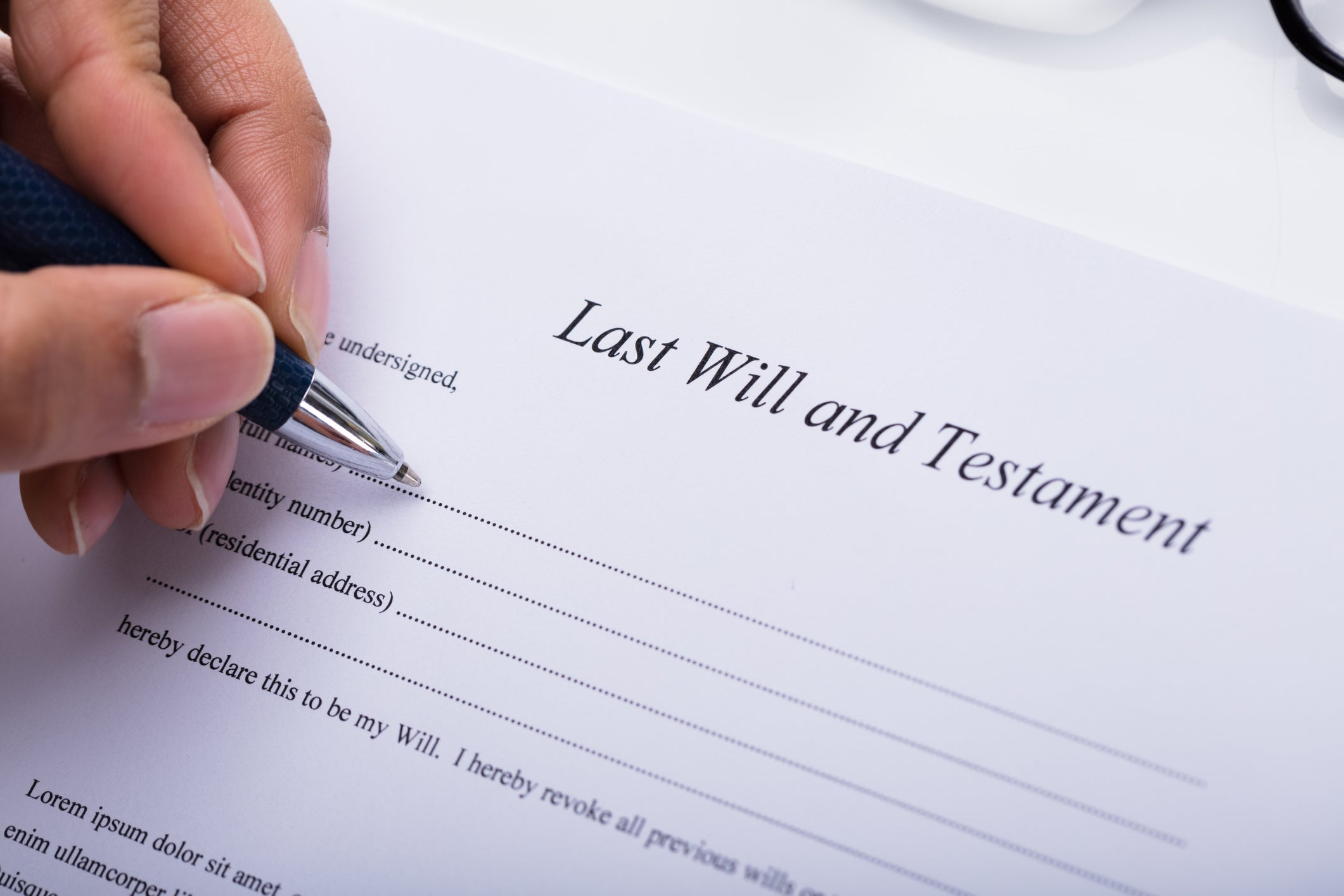 Providing for Adult Children in Wills