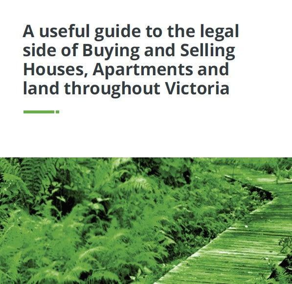 A useful guide to the legal side of Buying & Selling
