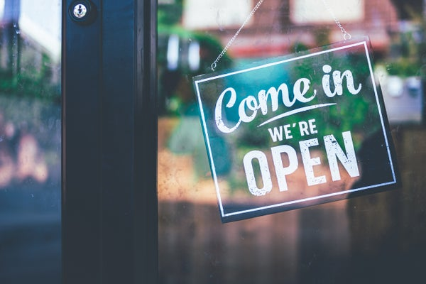 Our Doors Are Open Again!