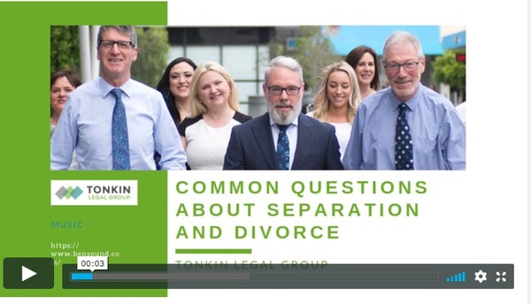 Family Law | Common Questions about Separation and Divorce