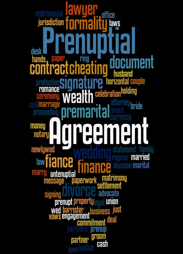 Prenuptial Agreements – a Case Study
