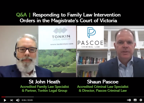 Responding to Family Violence Intervention Orders Interview