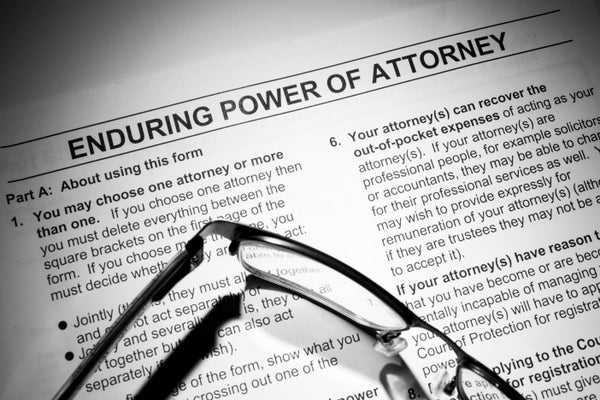 What is an Enduring Power of Attorney and why do I need one?