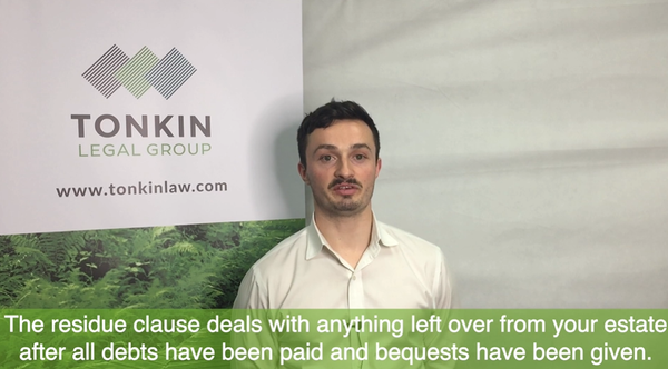 Wills & Estates   The Importance Of  Residue Clause