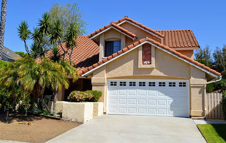street view of a two story house in orange california
