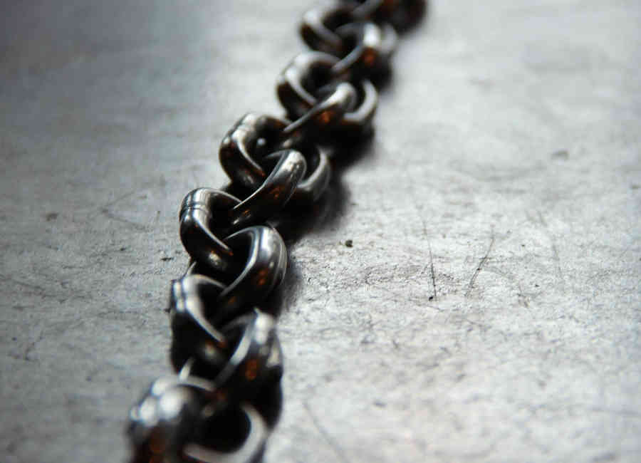 Series of metal links