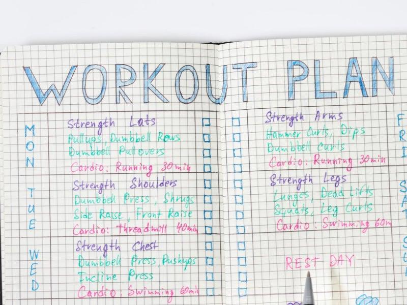 Neuer Trainingsplan erstellen