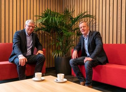 Koos Wessels en Hendrik-jan Weggeman Directie Emergo Prefab