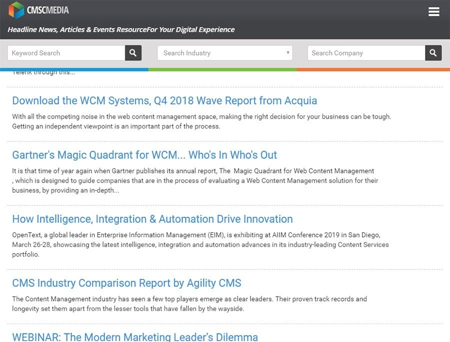 Validating your CMS decision with Gartner Magic Quadrant and Forrester   i3 Digital