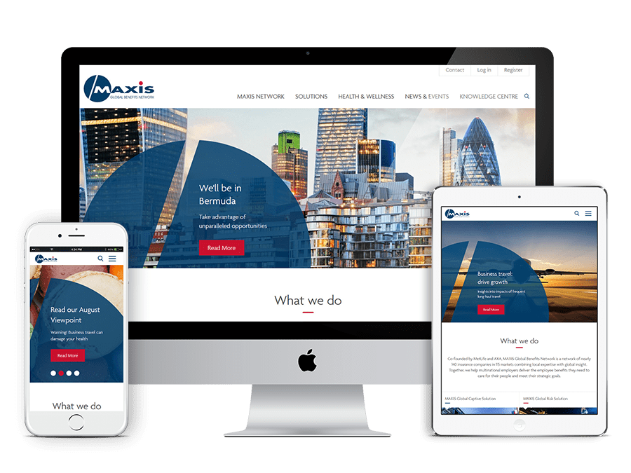 Maxis GBN Corporate Website Project | i3 Digital