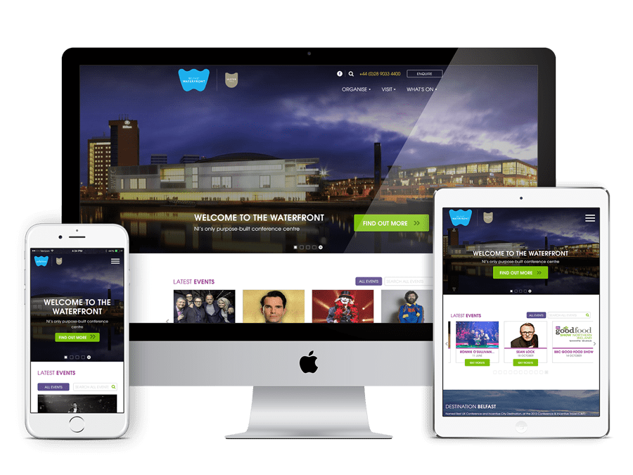 Waterfront Website Build Project | i3 Digital