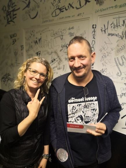 Michael Derks and Simone Henrich from DKMS Germany