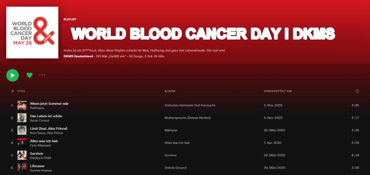 WBCD Spotify playlist