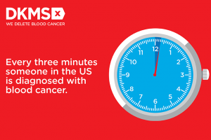 Every 3 minutes someone in the US is diagnosed with a blood cancer