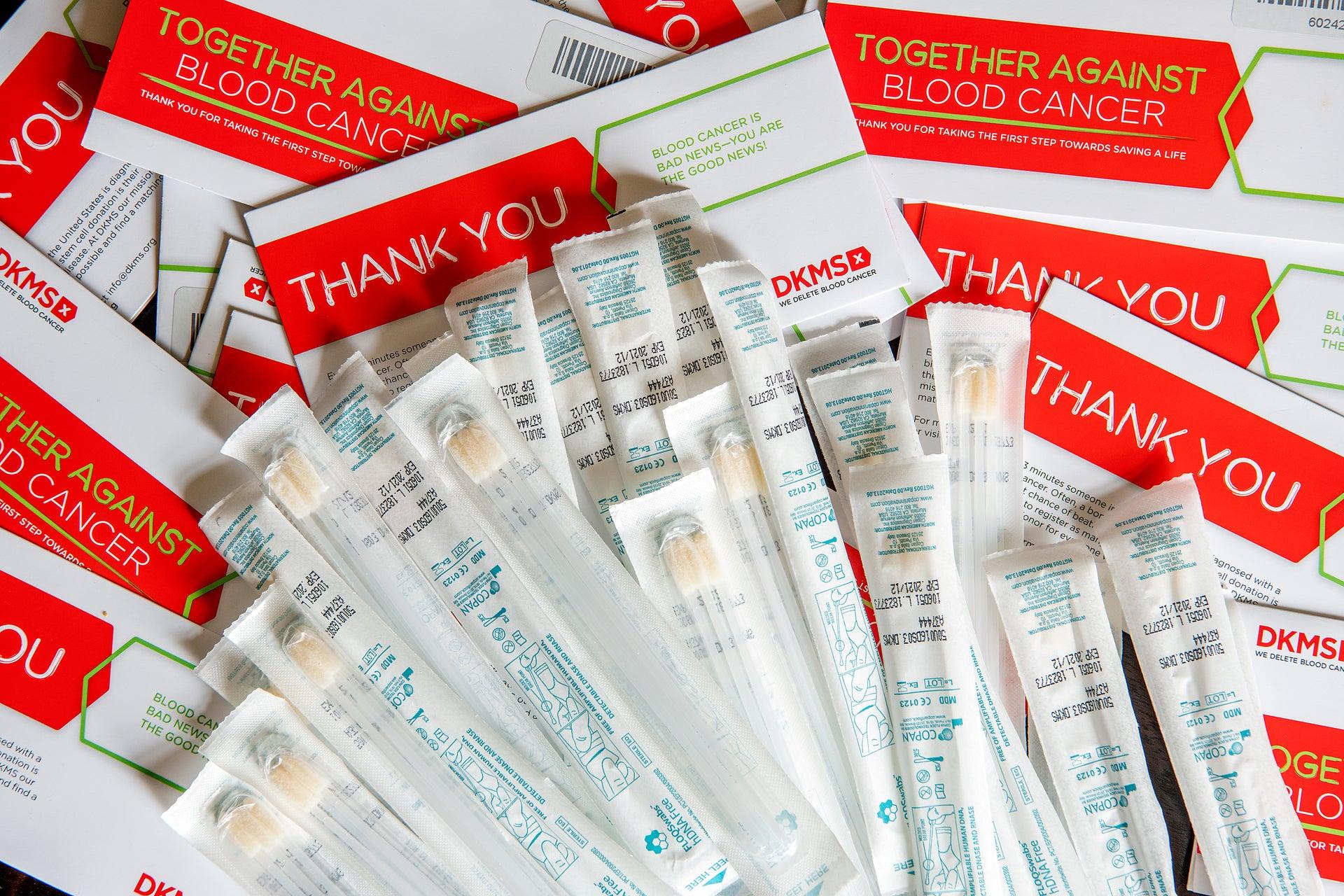 Swab kits can save a life envelope