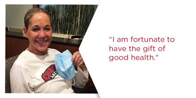 Karen Leone DKMS donor