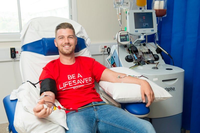 DKMS donor James stepped up to save a life
