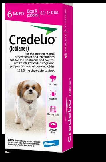 Credelio product packaging, Interceptor Plus product packaging
