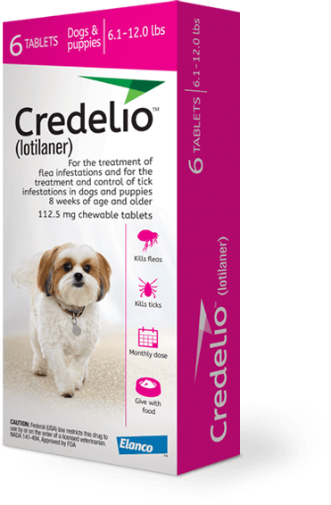 Credelio product packaging, Interceptor Plus product packaging