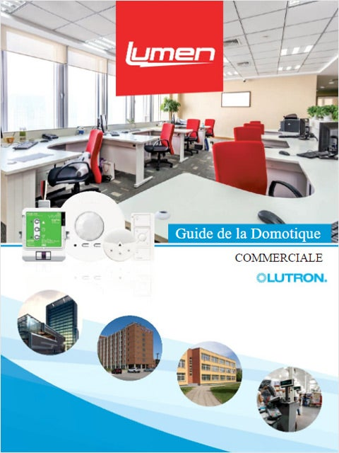 Lutron - Guide Domotique Commercial