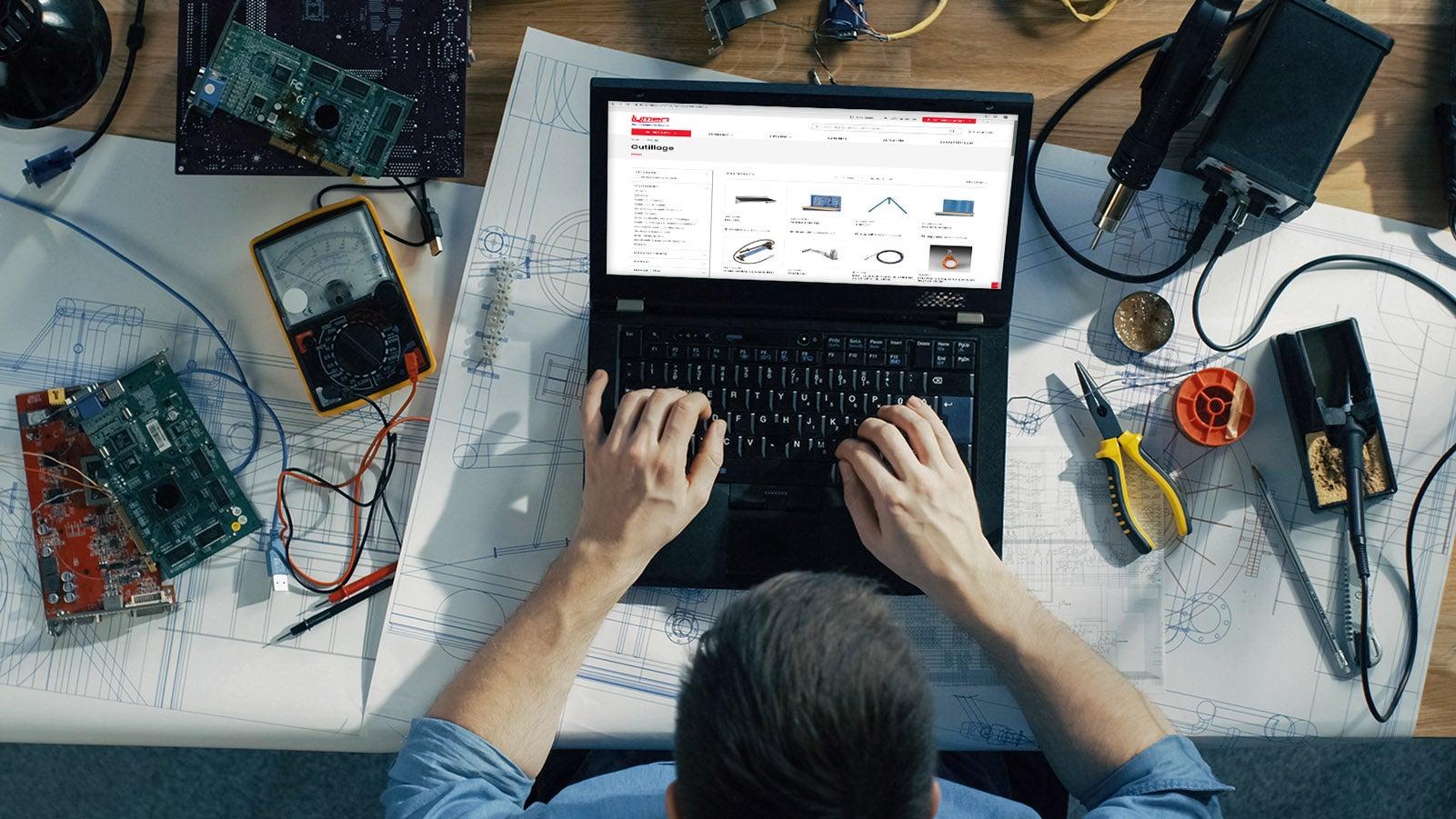 Eleknet, our e-commerce solution
