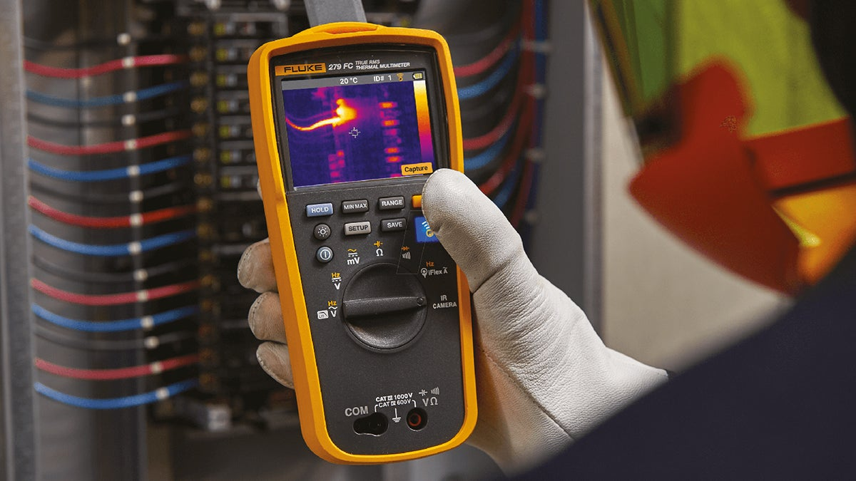 Fluke thermal imaging
