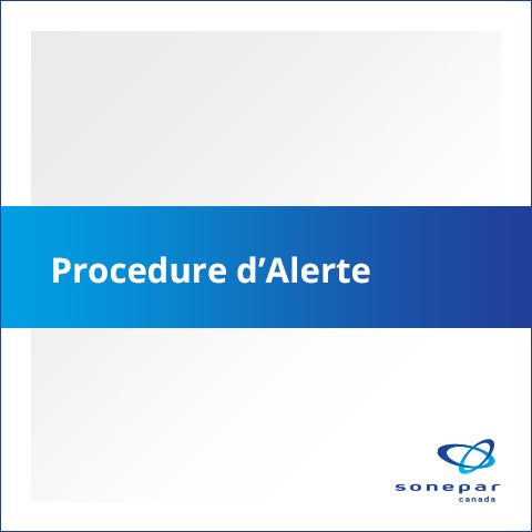 Procédure d'alerte français