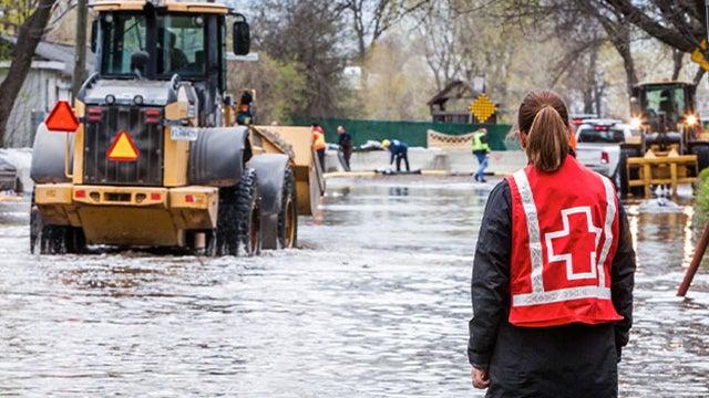 Collecte de fonds pour les inondations