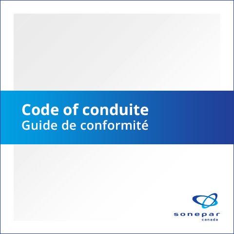 Code de conduite français, guide de conformité