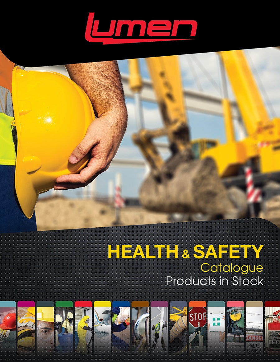 Health and safety products in stock catalogue
