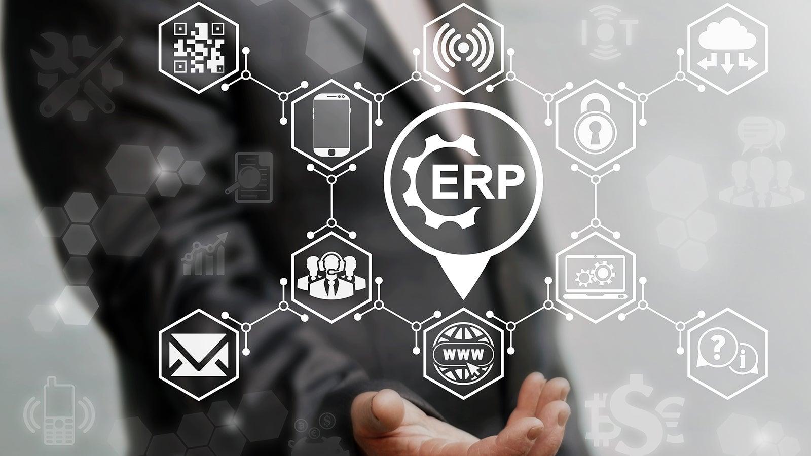 Eleknet s'intègre à votre système de gestion d'entreprise (ERP)