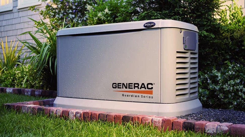 Generac generators and accessories